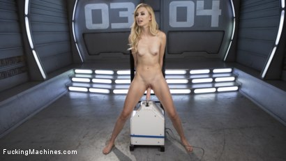Photo number 14 from Petite Blonde Newcomer Fucks the Machines Like a Pro! shot for Fucking Machines on Kink.com. Featuring Alexa Grace in hardcore BDSM & Fetish porn.