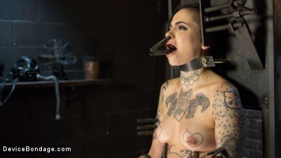 Photo number 13 from Breaking the New Girl - Leigh Raven shot for Device Bondage on Kink.com. Featuring Leigh Raven and The Pope in hardcore BDSM & Fetish porn.
