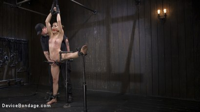 Photo number 2 from Pussy Betrayal - Kasey Warner shot for Device Bondage on Kink.com. Featuring Kasey Warner and The Pope in hardcore BDSM & Fetish porn.