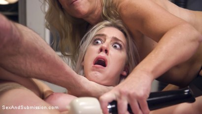 Photo number 22 from Stepdaughter NIGHTMARE! shot for Sex And Submission on Kink.com. Featuring Tommy Pistol, Cadence Lux and Simone Sonay in hardcore BDSM & Fetish porn.