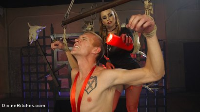 Photo number 10 from Semen Demon 2: The Reckoning shot for Divine Bitches on Kink.com. Featuring Zane Anders and Bella Rossi in hardcore BDSM & Fetish porn.