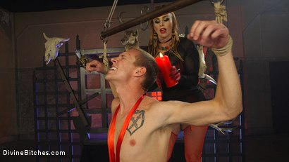 Photo number 14 from Semen Demon 2: The Reckoning shot for Divine Bitches on Kink.com. Featuring Zane Anders and Bella Rossi in hardcore BDSM & Fetish porn.