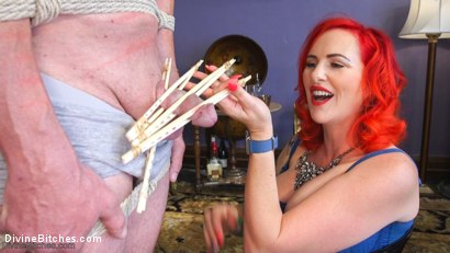 Photo number 5 from Hookers Revenge: Pegging, Humiliation and Enslavement shot for Divine Bitches on Kink.com. Featuring Mz Berlin and D. Arclyte in hardcore BDSM & Fetish porn.