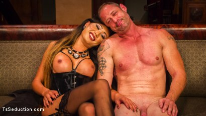 Photo number 9 from Huge Fat Load Of TS Cum For A Politician shot for TS Seduction on Kink.com. Featuring D. Arclyte and Venus Lux in hardcore BDSM & Fetish porn.