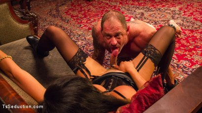Photo number 10 from Huge Fat Load Of TS Cum For A Politician shot for TS Seduction on Kink.com. Featuring D. Arclyte and Venus Lux in hardcore BDSM & Fetish porn.