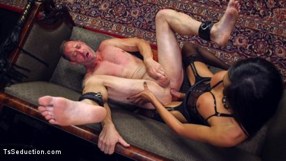 Photo number 14 from Huge Fat Load Of TS Cum For A Politician shot for TS Seduction on Kink.com. Featuring D. Arclyte and Venus Lux in hardcore BDSM & Fetish porn.