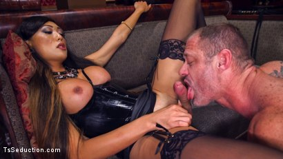 Photo number 5 from Huge Fat Load Of TS Cum For A Politician shot for TS Seduction on Kink.com. Featuring D. Arclyte and Venus Lux in hardcore BDSM & Fetish porn.