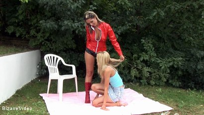 Photo number 2 from Under the Lash: Daria Glower and Marcy shot for Bizarre Video on Kink.com. Featuring Daria Glower in hardcore BDSM & Fetish porn.