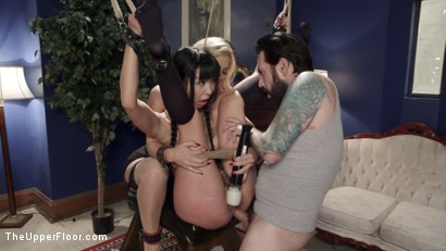 Photo number 17 from Foreign Student Punished for Disobeying the Master's House Rule. shot for The Upper Floor on Kink.com. Featuring Marica Hase, Cherie DeVille and Tommy Pistol in hardcore BDSM & Fetish porn.