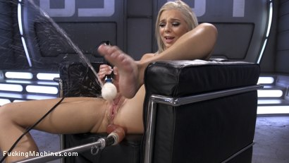 Photo number 11 from Brand New Blonde Squirts Everywhere! shot for fuckingmachines on Kink.com. Featuring Tiffany Watson in hardcore BDSM & Fetish porn.