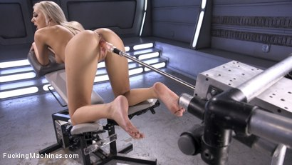 Photo number 5 from Brand New Blonde Squirts Everywhere! shot for Fucking Machines on Kink.com. Featuring Tiffany Watson in hardcore BDSM & Fetish porn.