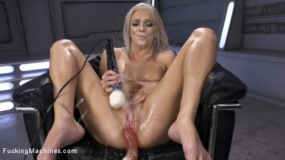 Photo number 9 from Brand New Blonde Squirts Everywhere! shot for Fucking Machines on Kink.com. Featuring Tiffany Watson in hardcore BDSM & Fetish porn.
