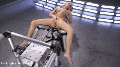 Photo number 2 from Brand New Blonde Squirts Everywhere! shot for Fucking Machines on Kink.com. Featuring Tiffany Watson in hardcore BDSM & Fetish porn.