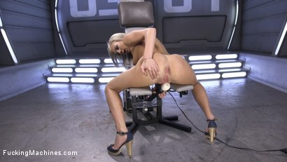 Photo number 15 from Brand New Blonde Squirts Everywhere! shot for Fucking Machines on Kink.com. Featuring Tiffany Watson in hardcore BDSM & Fetish porn.
