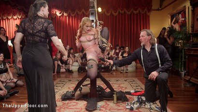 Photo number 8 from Fantastically Fevered Folsom Orgy shot for The Upper Floor on Kink.com. Featuring Syren de Mer, John Strong, Eliza Jane , Aiden Starr and Lauren Phillips in hardcore BDSM & Fetish porn.