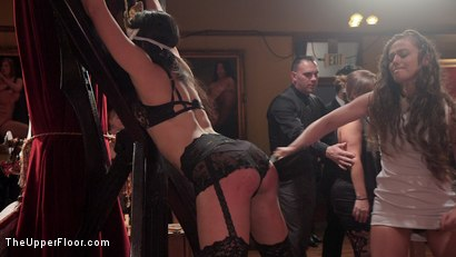 Photo number 11 from Fantastically Fevered Folsom Orgy shot for The Upper Floor on Kink.com. Featuring Syren de Mer, John Strong, Eliza Jane , Aiden Starr and Lauren Phillips in hardcore BDSM & Fetish porn.