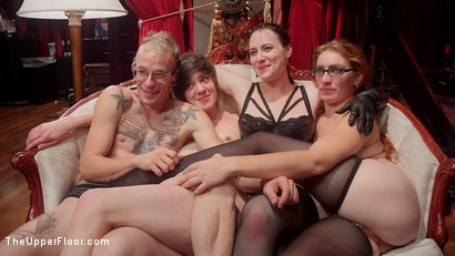 Photo number 12 from The Fantastic Fucking Folsom Orgy Pt. 2 shot for The Upper Floor on Kink.com. Featuring Syren de Mer, John Strong, Eliza Jane , Aiden Starr and Lauren Phillips in hardcore BDSM & Fetish porn.