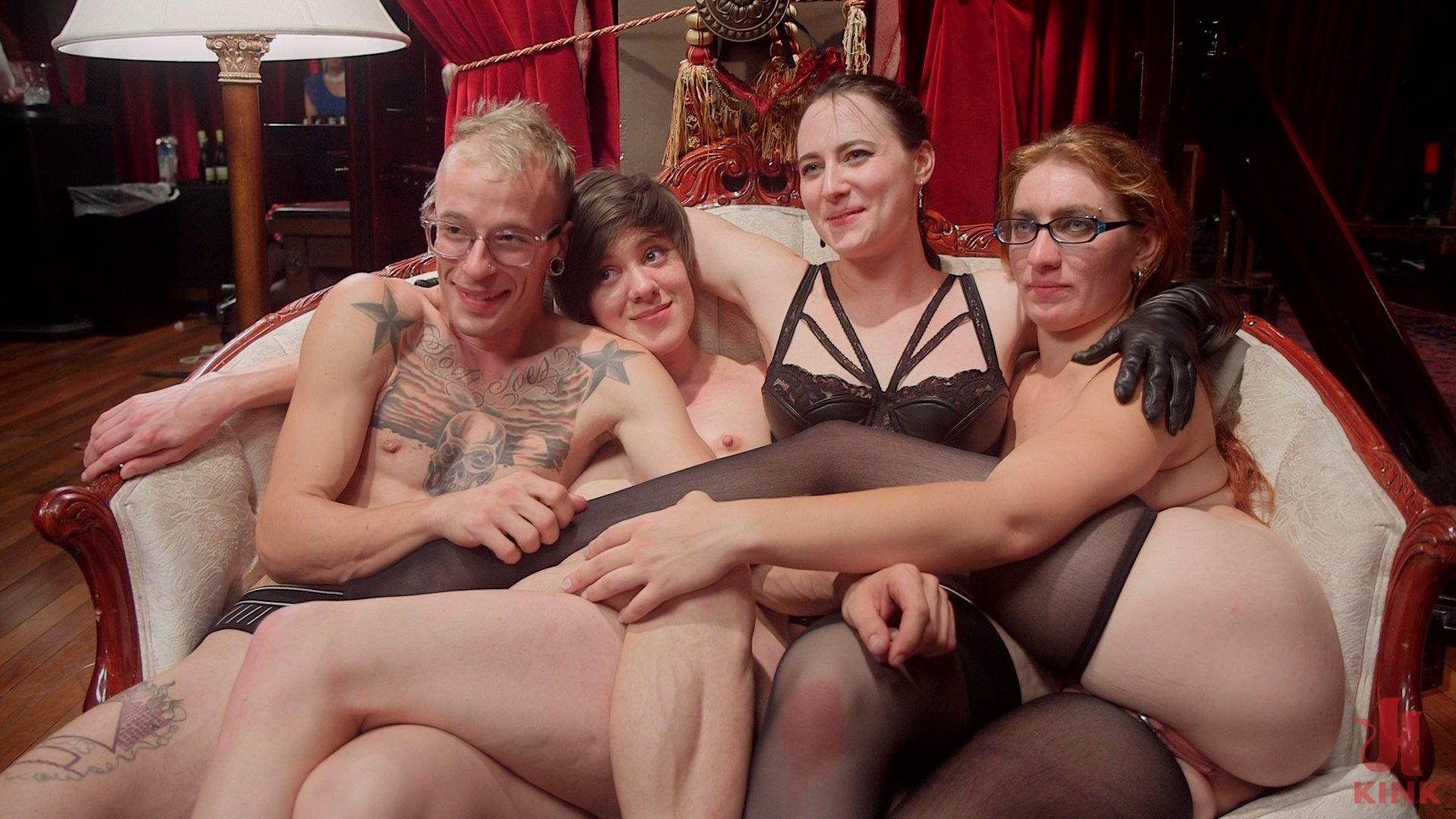 Photo number 12 from The Fantastic Fucking Folsom Orgy Pt. 2 shot for The Upper Floor on Kink.com. Featuring Syren de Mer, John Strong, Eliza Jane , Aiden Starr and Lauren Phillips in hardcore BDSM & Fetish porn.
