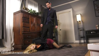 Photo number 6 from The Fixer shot for Sex And Submission on Kink.com. Featuring Seth Gamble and Sarah Jessie in hardcore BDSM & Fetish porn.