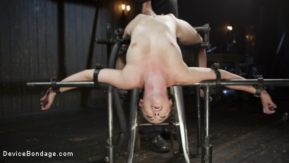 Photo number 7 from Hot Seat shot for Device Bondage on Kink.com. Featuring Casey Calvert and The Pope in hardcore BDSM & Fetish porn.