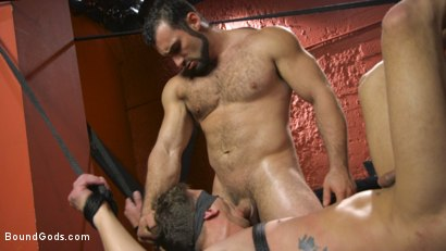 Photo number 14 from Alexander Pays His Debts With His Holes shot for Bound Gods on Kink.com. Featuring Jaxton Wheeler and Alexander Gustavo in hardcore BDSM & Fetish porn.