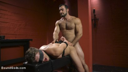 Photo number 9 from Alexander Pays His Debts With His Holes shot for Bound Gods on Kink.com. Featuring Jaxton Wheeler and Alexander Gustavo in hardcore BDSM & Fetish porn.