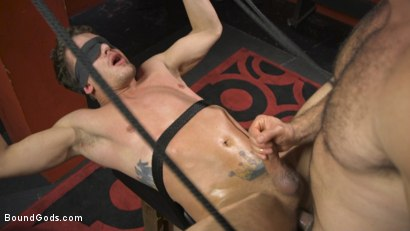 Photo number 12 from Alexander Pays His Debts With His Holes shot for Bound Gods on Kink.com. Featuring Jaxton Wheeler and Alexander Gustavo in hardcore BDSM & Fetish porn.
