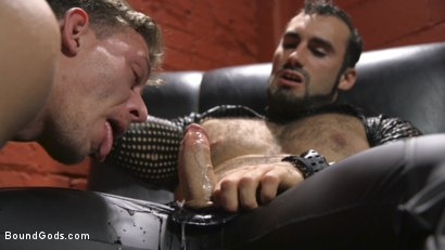 Photo number 4 from Alexander Pays His Debts With His Holes shot for Bound Gods on Kink.com. Featuring Jaxton Wheeler and Alexander Gustavo in hardcore BDSM & Fetish porn.