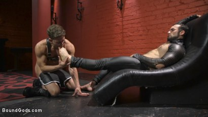Photo number 3 from Alexander Pays His Debts With His Holes shot for Bound Gods on Kink.com. Featuring Jaxton Wheeler and Alexander Gustavo in hardcore BDSM & Fetish porn.