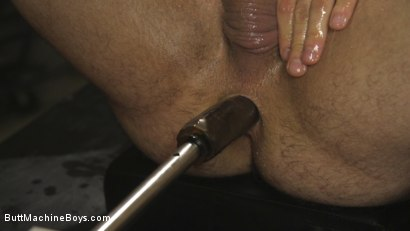 Photo number 11 from House dom takes his first machine deep in his hairy hole! shot for Butt Machine Boys on Kink.com. Featuring Jaxton Wheeler in hardcore BDSM & Fetish porn.