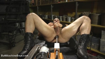 Photo number 12 from House dom takes his first machine deep in his hairy hole! shot for Butt Machine Boys on Kink.com. Featuring Jaxton Wheeler in hardcore BDSM & Fetish porn.