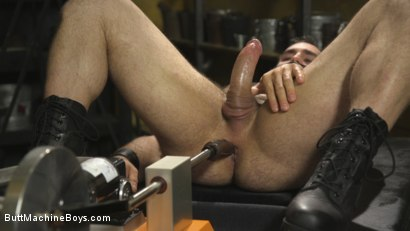 Photo number 10 from House dom takes his first machine deep in his hairy hole! shot for Butt Machine Boys on Kink.com. Featuring Jaxton Wheeler in hardcore BDSM & Fetish porn.