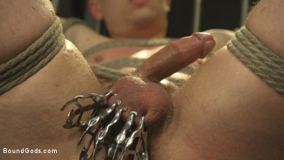 Photo number 11 from Officer Boss is THE BOSS! shot for Bound Gods on Kink.com. Featuring Jordan Boss and Tyler Rush in hardcore BDSM & Fetish porn.