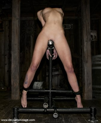 Photo number 10 from Inaugural shot for Device Bondage on Kink.com. Featuring Sarah Jane Ceylon in hardcore BDSM & Fetish porn.
