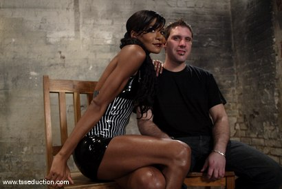 Photo number 1 from Kriss and Mistress Soleli shot for TS Seduction on Kink.com. Featuring Mistress Soleli and Kriss in hardcore BDSM & Fetish porn.