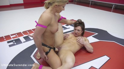 Photo number 11 from Beautiful muscle Goddesses battle in a sex fight. Muscles CUM hard shot for Ultimate Surrender on Kink.com. Featuring Ariel X and Brandi Mae in hardcore BDSM & Fetish porn.