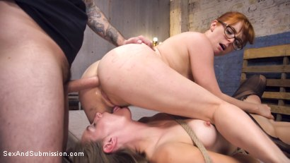 Photo number 23 from Anal Psycho 2 shot for Sex And Submission on Kink.com. Featuring Tommy Pistol, Mona Wales and Penny Pax in hardcore BDSM & Fetish porn.