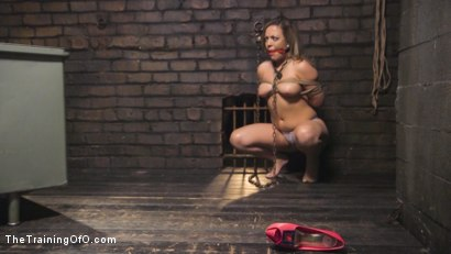 Photo number 1 from Training Carmen Valentina shot for The Training Of O on Kink.com. Featuring Charles Dera and Carmen Valentina in hardcore BDSM & Fetish porn.