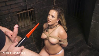 Photo number 7 from Training Carmen Valentina shot for The Training Of O on Kink.com. Featuring Charles Dera and Carmen Valentina in hardcore BDSM & Fetish porn.