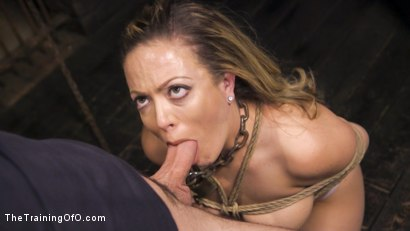 Photo number 8 from Training Carmen Valentina shot for The Training Of O on Kink.com. Featuring Charles Dera and Carmen Valentina in hardcore BDSM & Fetish porn.