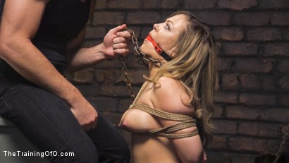 Photo number 5 from Training Carmen Valentina shot for The Training Of O on Kink.com. Featuring Charles Dera and Carmen Valentina in hardcore BDSM & Fetish porn.