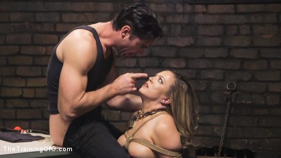 Photo number 6 from Training Carmen Valentina shot for The Training Of O on Kink.com. Featuring Charles Dera and Carmen Valentina in hardcore BDSM & Fetish porn.