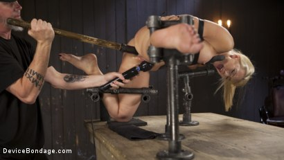 Photo number 16 from Of the Body and Mind shot for Device Bondage on Kink.com. Featuring AJ Applegate and The Pope in hardcore BDSM & Fetish porn.