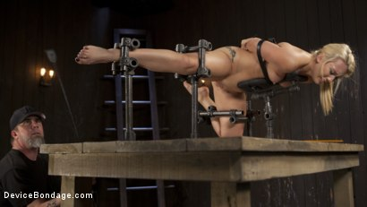 Photo number 7 from Of the Body and Mind shot for Device Bondage on Kink.com. Featuring AJ Applegate and The Pope in hardcore BDSM & Fetish porn.