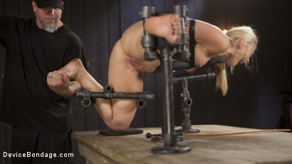 Photo number 8 from Of the Body and Mind shot for Device Bondage on Kink.com. Featuring AJ Applegate and The Pope in hardcore BDSM & Fetish porn.