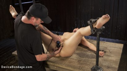 Photo number 10 from Of the Body and Mind shot for Device Bondage on Kink.com. Featuring AJ Applegate and The Pope in hardcore BDSM & Fetish porn.