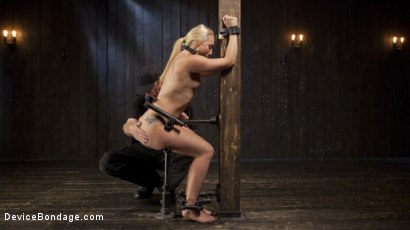 Photo number 2 from Of the Body and Mind shot for Device Bondage on Kink.com. Featuring AJ Applegate and The Pope in hardcore BDSM & Fetish porn.