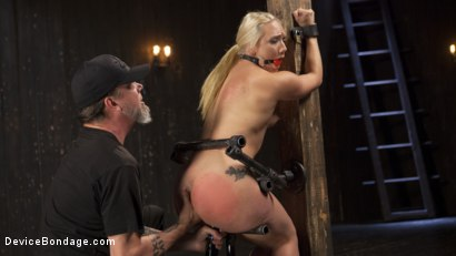 Photo number 14 from Of the Body and Mind shot for Device Bondage on Kink.com. Featuring AJ Applegate and The Pope in hardcore BDSM & Fetish porn.