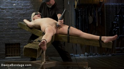 Photo number 1 from The New Bitch shot for Device Bondage on Kink.com. Featuring Cadence Lux and The Pope in hardcore BDSM & Fetish porn.