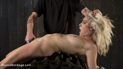 Photo number 14 from The New Bitch shot for Device Bondage on Kink.com. Featuring Cadence Lux and The Pope in hardcore BDSM & Fetish porn.